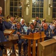 """Konsertens trumpetsolist Tommy Persson framförde """"O Helga Natt """""""