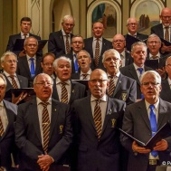 Förenade manskören.... Dirigenter Kurt Snygg och Thomas Åstrand