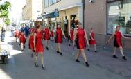 Westervik Twirling Troop och Gunnebo musikkår