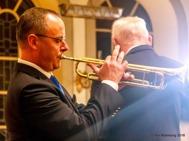 """Trumpetsolist  Tommy Persson avslutade julkonserten med  """" O,helga natt """""""