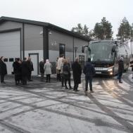 Gunnebo Musikkår på väg till Linköping för Julkonsert