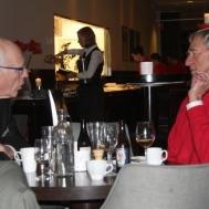 Gunnar Andersson och Roland Svensson ser nöjda ut