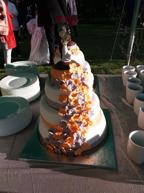 """Bröllopstårtan """"Maffig"""""""