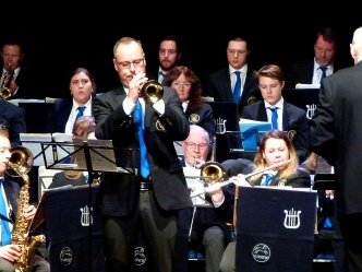 """Tommy Persson kvällens solist i """"A Trumpeter's Lullaby"""""""