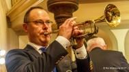 """Kvällens andra trumpetsolist Tommy Persson spelade """" O Helga Natt"""""""