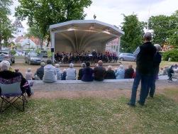 Gunnebo Musikkår i Stadsparken Västervik