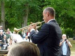 Kvällens trumpetsolist Tommy Persson