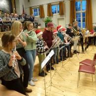 Västerviks Kulturskolas blåsare medverkade