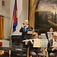 """Trumpetsolist Tommy Persson spelade """"O Helga Natt """""""