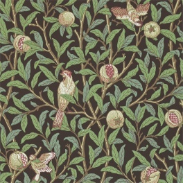 WILLIAM MORRIS Tapet Bird & Pomegranate (4 färger)