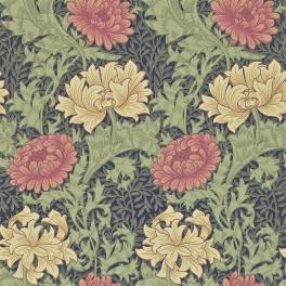 WILLIAM MORRIS Tapet Chrysanthemum (5 färger)