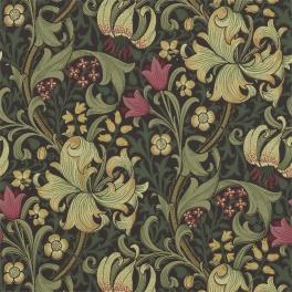 WILLIAM MORRIS Tapet Golden Lily (6 färger) Pris per rulle.