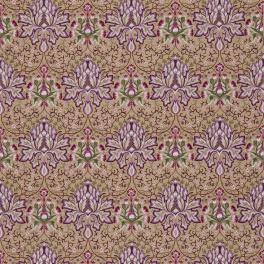 WILLIAM MORRIS Tyg Artichoke Embroidery