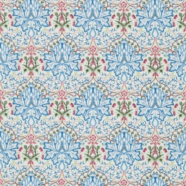 WILLIAM MORRIS Tyg Artichoke Embroidery