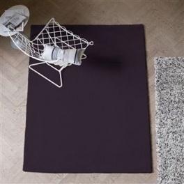 Designers Guild Matta SOHO-AUBERGINE RUGDG0245-46 Två storlekar (FRI FRAKT)