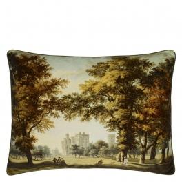Royal Collection Kudde Windsor Velvet - Moss CCRC0036 (2-PACK)