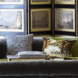 Royal Collection Kudde Windsor Velvet - Moss CCRC0036 (1-PACK)