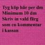Ludvig/Svensson Ulltyg Rock (30 färger) - Köp här per dm minimum 10 dm