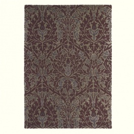William Morris Matta Autumn Flowers 27500 Plum PER M²