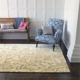 William Morris Matta Oak 27904 Linen 140X200 CM