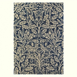 William Morris Matta Oak 27908 Indigo PER M²