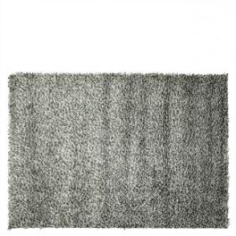 Designers Guild Matta BELGRAVIA-BLACK & WHITE RUGDG0273-74 (Två storlekar) (FRI FRAKT)