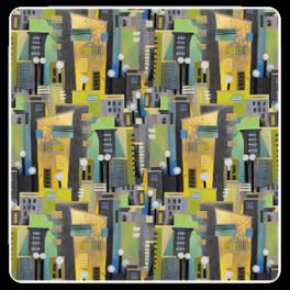 Kinnamark Tyg TOWN Färg 02