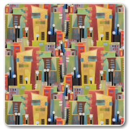 Kinnamark Tyg TOWN Färg 01