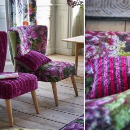 Designers Guild Tygkollektion FORSYTH möbel (5 tyger men i många färgställningar)