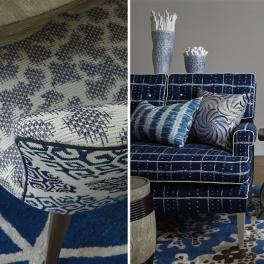 William Yeoward Tygkollektion RUFOLO möbel/gardin (13 tyger men i många färgställningar)
