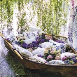 Sanderson Tygkollektion Waterperry Fabrics möbel/gardin (10 tyger men i många färgställningar)