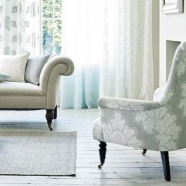 Sanderson Tygkollektion Bay Willow möbel/gardin (6 tyger men i många färgställningar)