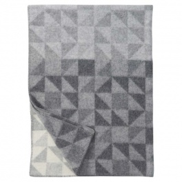 Klippans Yllefabrik Filt Shape-Grå art.2265-01 (2-Pack)