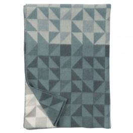 Klippans Yllefabrik Filt Shape-Jade art.2265-02 (2-Pack)