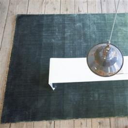 Designers Guild Matta CAPISOLI - TEAL Tre storlekar RUGDG0403-05 (FRI FRAKT)