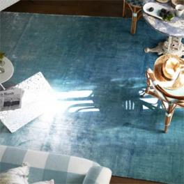 Designers Guild Matta Eberson - Aqua Tre storlekar DHRDG0009-10, RUGDG0321 (FRI FRAKT)