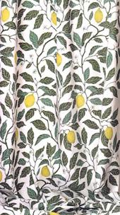 Tyg Citrus bomull/lin Formgivare Maria Åström