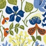 Tyg Herbarium Vit Bomull/Lin Formgivare Stig Lindberg
