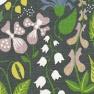 Tyg Herbarium Grå Bomull/Lin Formgivare Stig Lindberg