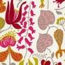 Tyg Herbarium Orange Bomull/Lin Formgivare Stig Lindberg