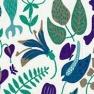 Tyg Herbarium Lila Bomull/Lin Formgivare Stig Lindberg