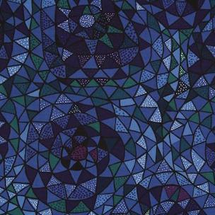 Tyg Oomph Blå Formgivare: Viola Gråsten 100% lin