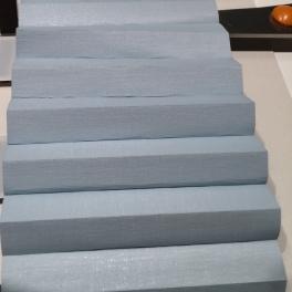 Luxaflex Plségardin mörkläggande bredd 126,9 cm höjd 38 cm Färg Ljusblå