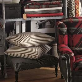 Ralph Lauren Tygkollektion SIGNATURE WEST VILLAGE möbel/gardin (23 tyger men i många färgställningar)