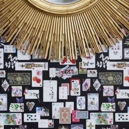 Christian Lacroix Tapetkollektion INCROYABLES ET MERVEILLEUSES (8 tapeter men i många färgställningar)
