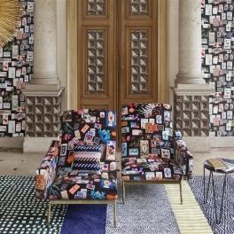 Christian Lacroix Tygkollektion INCROYABLES ET MERVEILLEUSES (15 tyger men i många färgställningar)