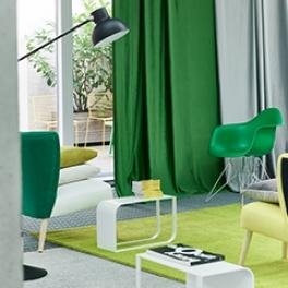 A. Nyhet Designers Guild Tyg Trentino Sammet (33 färger) Extra bred 295 cm