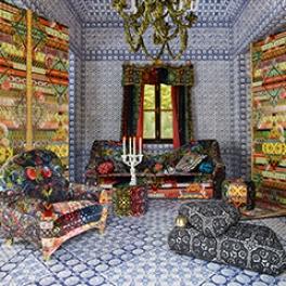 Christian Lacroix Tygkollektion Au Théatre Soir (16 tyger men i många färgställningar)