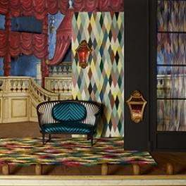 Christian Lacroix Tapetkollektion Théatre Ce Soir (8 Tapeter men i många färgställningar)