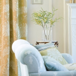 Style/library Sanderson Tygkollektion Palm Grove möbel/gardin (5 tyger men i många färgställningar)